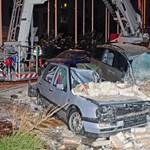 Hatalmas robbanás egy belvárosi házban Budapesten. Összetört autók, hatalmas pusztítás. (fotókkal)