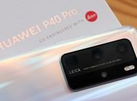 Mindenkit letepert a Huawei, a P40 Prónak van a legjobb kamerája
