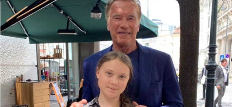 Greta Thunberg nem akármilyen autót kapott Arnold Schwarzeneggertől