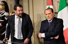 Salvinit választotta utódjának Berlusconi