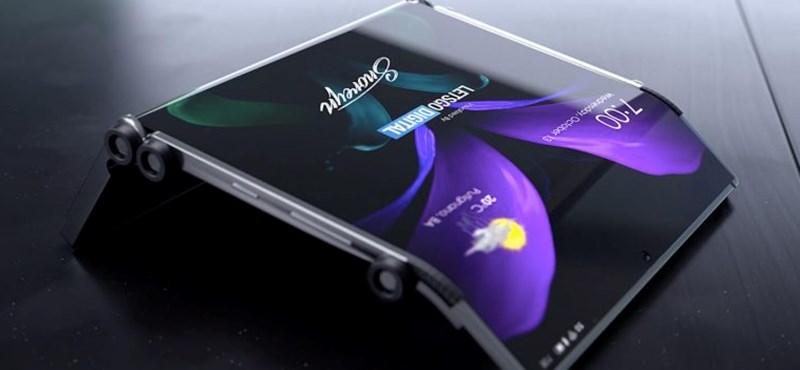 Egy teljesen újfajta telefont talált ki a Samsung