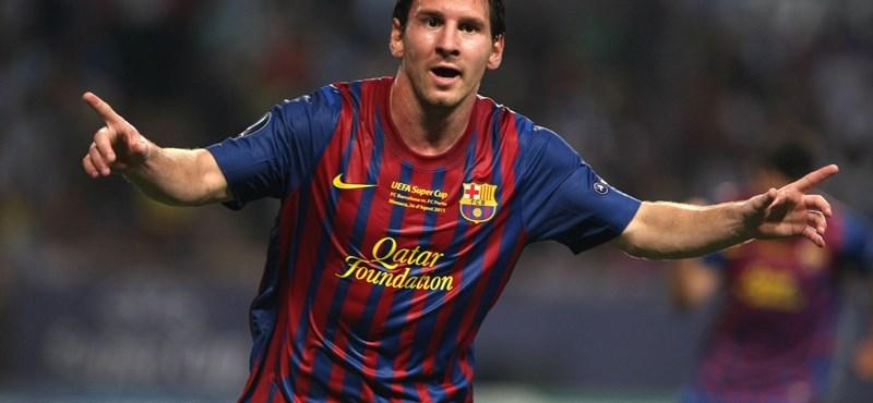 Messi mindjárt beéri Kubala Lászlót