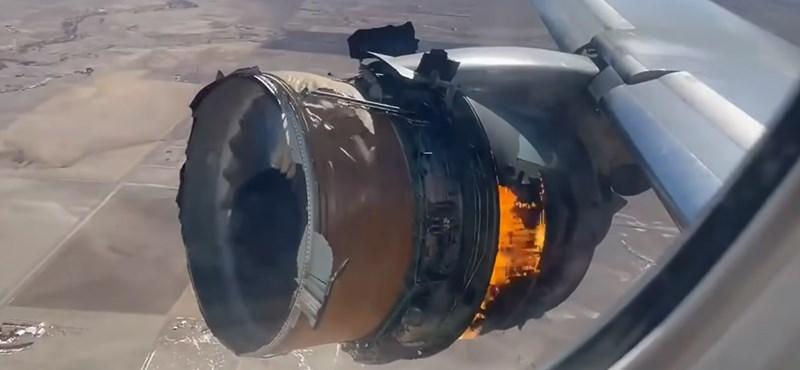 A Boeing nem javasolja, hogy 777-esek repüljenek, amíg ki nem vizsgálják a Denvernél kigyulladt hajtómű esetét