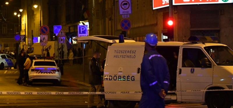 Rendőrök sérültek meg a Teréz körúti robbanásban - fejlemények