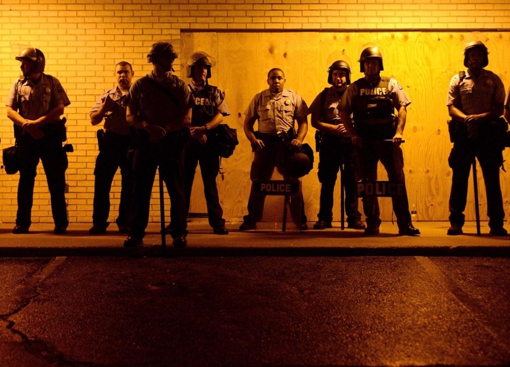 epa. Zavargások az Egyesült Államokban, Michael Brown, St. Louis, Ferguson városrész 2014.08.17.