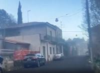 Vulkáni kőzet és hamu hullott eső helyett a szicíliai kisvárosra