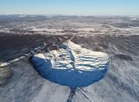 650 000 éve befagyott, azóta úgy is maradt