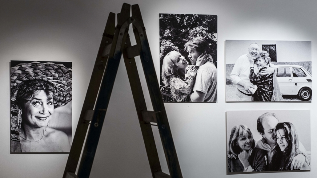 faz.16.09.21. - Keleti Éva kiállításának előkészületei a Nemzeti Múzeumban.
