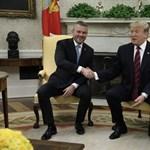A szlovák miniszterelnököt már fogadta Trump a Fehér Házban