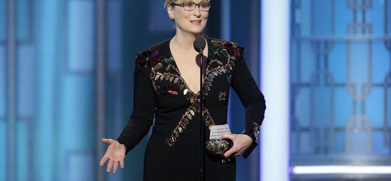 Meryl Streep nyílt levélben írt Rose McGowannek Weinsteinről