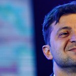 Tarolt az ukrán humorista az ukrán elnökválasztáson a részeredmények szerint