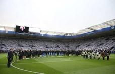 Fehérbe borult elhunyt tulajdonosa emlékére a Leicester stadionja