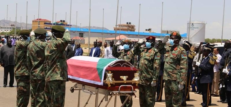 Szívrohamot kapott a béketárgyalások közben a szudáni védelmi miniszter