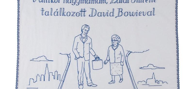 Itt a lehetőség, hogy otthonában tudja a Bowie-falvédőt és a Kiedis-edényt