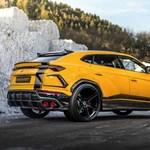 812 lóerős lett a Lamborghini Urus divatterepjáró