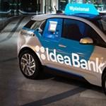Bankautomatát csináltak egy i3-as BMW-ből