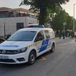 Meghalt egy 8 éves gyerek a MOM Sportnál kigyulladt bódéban
