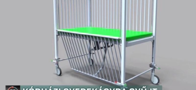 Kórházi ágyra gyűjt a Bethesda kórháznak egy beteg kisfiú édesanyja