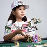 Még csak nyolcéves, de már ő a világ legfiatalabb pókerjátékosa