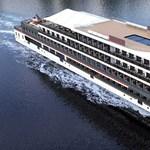 Kínában épül a világ legnagyobb elektromos turistahajója