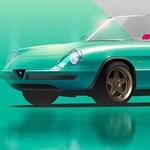 A csodás Alfa Romeo Spidert is megálmodták elektromos autóként