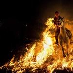 Bankrobbantás és lángoló villamos – a hét képei