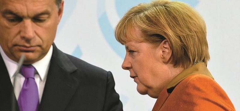 """Kiszivárgott program – """"Merkel kemény lesz"""" Orbánnal"""