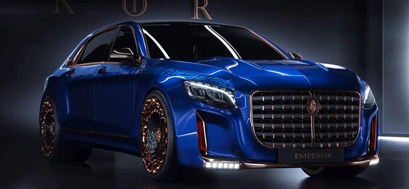 Ennek a Mercedes-Maybachnak már illik előre köszönni