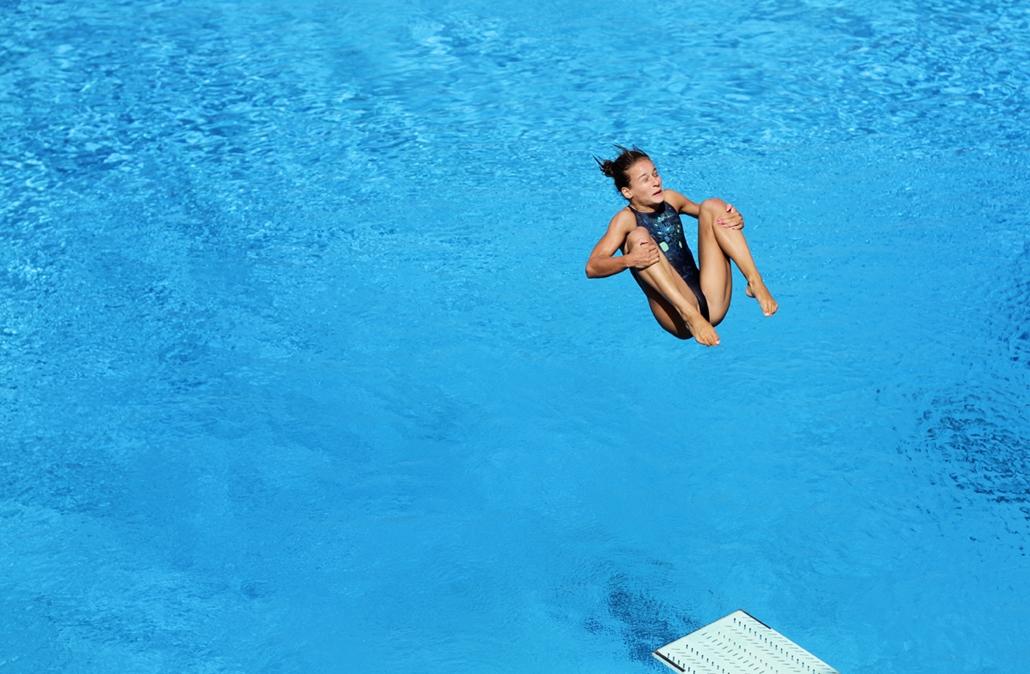 2012.07.19. - Gondos Flóra műugró felkészülése a londoni olimpiára - - évképei