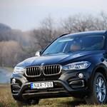 BMW X6 bemutató: még mindig súlyos karakter