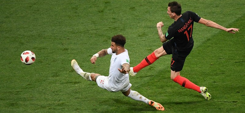 Horvátország - Anglia - 2-1