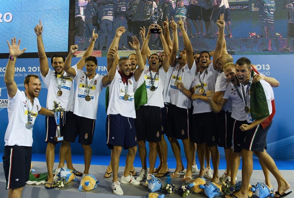 Barcelona, győzelem - Vízilabdaválogatott