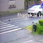 Megoldódott a gázolós videó ügye, jelentkezett a rendőrség is
