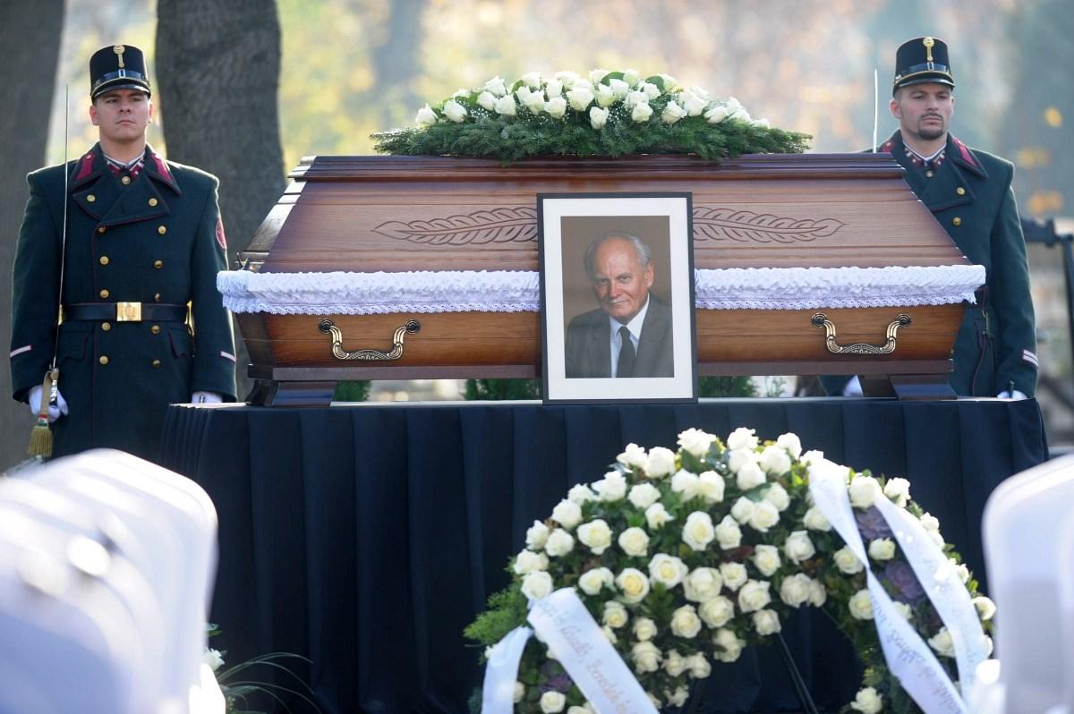 Elbúcsúztak Göncz Árpádtól