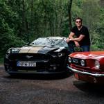 """""""Gyerekkori álmom volt egy eredeti, 1965-ös Mustang"""" – Kiss Gergely olimpiai bajnok vízilabdázó"""