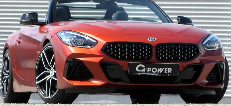 500 lóerős lett a BMW Z4