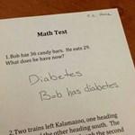 Zseniális fotó: így oldotta meg a diák a matekfeladatot