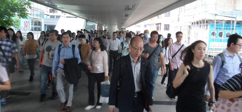 Először tiltottak be pártot Hongkongban