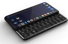 Ilyen telefont még biztosan nem látott: linuxos, androidos, és billentyűzete is van