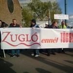 """""""Nem a Fidesz adóprésére"""" - Papcsák ellen tüntettek a zuglóiak"""