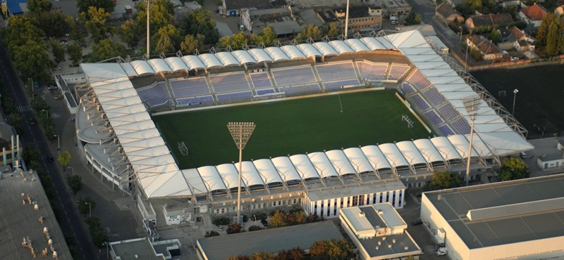 Jól sikerült az Újpest-stadion felújítása, csak épp focizni nem lehet benne