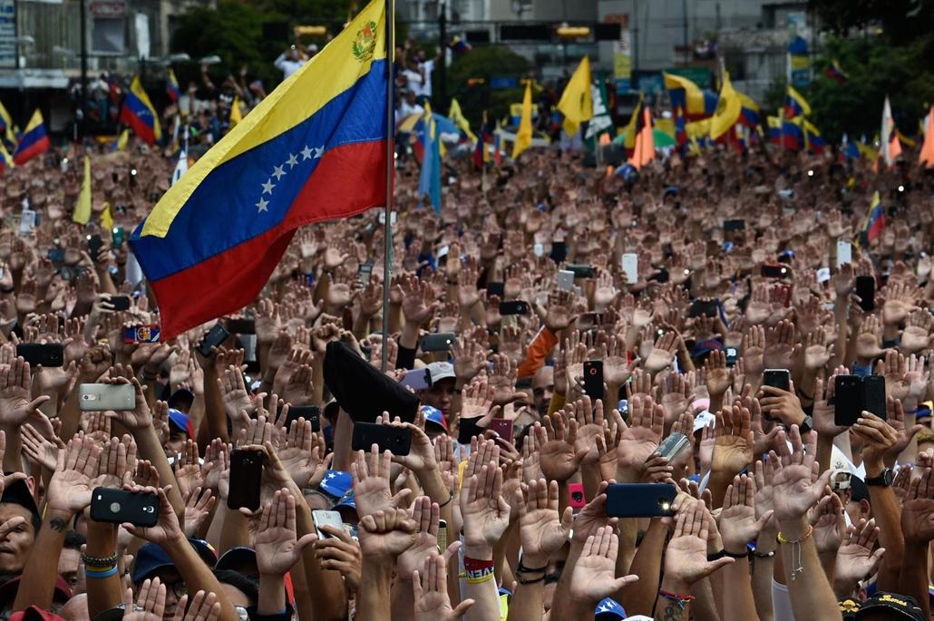 nagyítás afp.19.01.23. venezuela, tüntetés