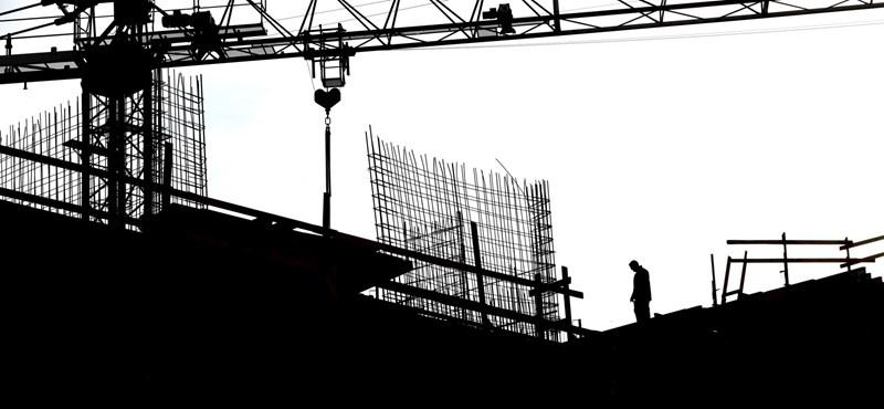 Másfél éves mélypontra került a magyar építőipar