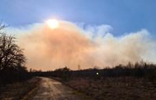 Ötödik napja oltják az erdőtüzet a csernobili tiltott zónában