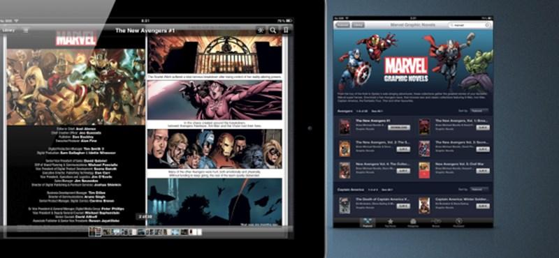 Marvel képregények az iBookstore-ban! Ingyen letölthető a The New Avengers első része!