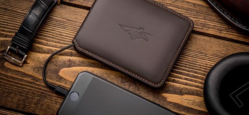 Itt a pénztárca, amit szinte képtelenség elhagyni, és ha ellopják, lefotózza a tolvajt