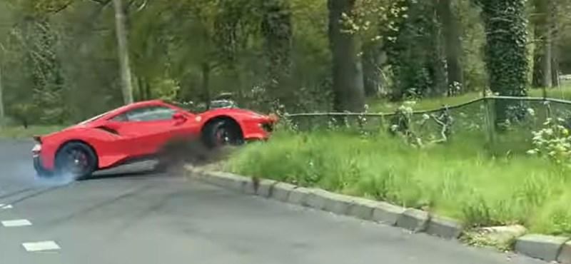 Megmutatta a Ferrari 448 Pista - videó    krónika