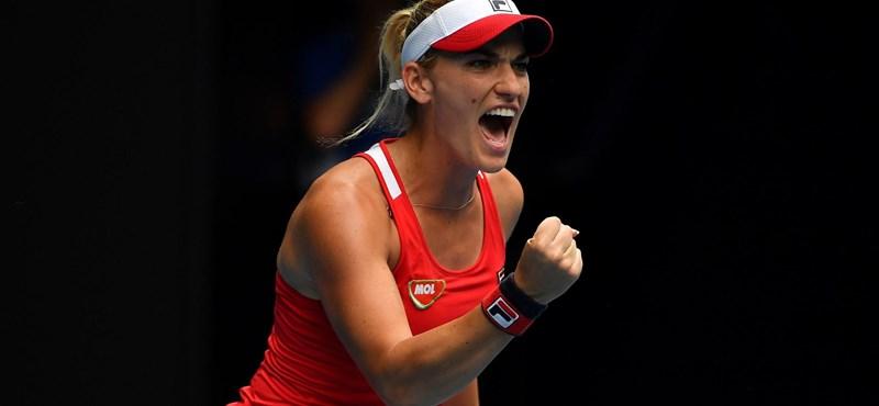 Tenisztörténelem: Babosék döntőznek a US Openen