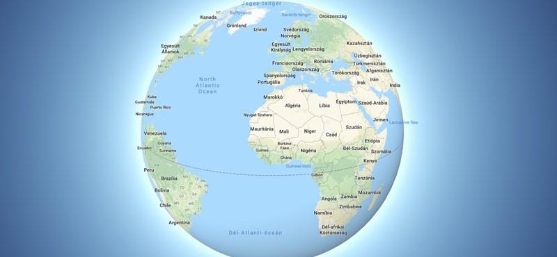 Épp a Google Térképet böngészte a biztonsági kutató, amikor egy furcsaságra lett figyelmes
