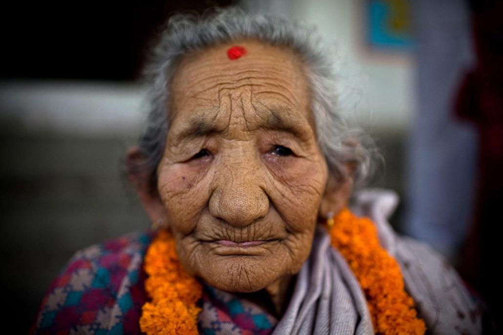 Idős ember, öreg, hét képei